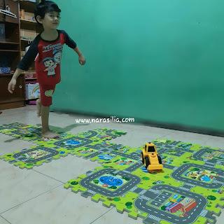 Manfaat Karpet Puzzle Evamat Yang Menakjubkan Untuk Anak Generasi Maju