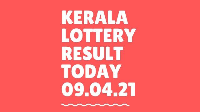 Kerala Lottery Result Today Live 09.04.2021 | Nirmal Lottery Result NR 219 Lottery Result