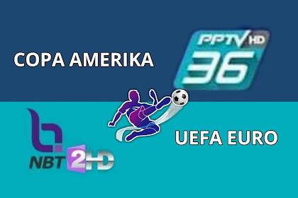 Mau Nonton Siaran Euro dan Copa America di Parabola Secara Gratis? Begini Caranya