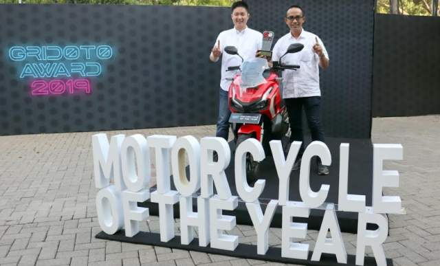 Honda ADV150 raih predikat best Motorcycle of the year 2019