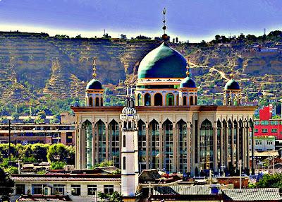 keindahan senibina masjid relaks minda