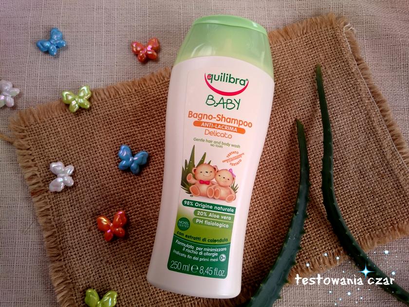 EQUILIBRA BABY - Łagodny szampon do ciała i włosów