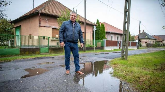Hajdúszoboszlón hamarosan megújul a Kádár utca útburkolata