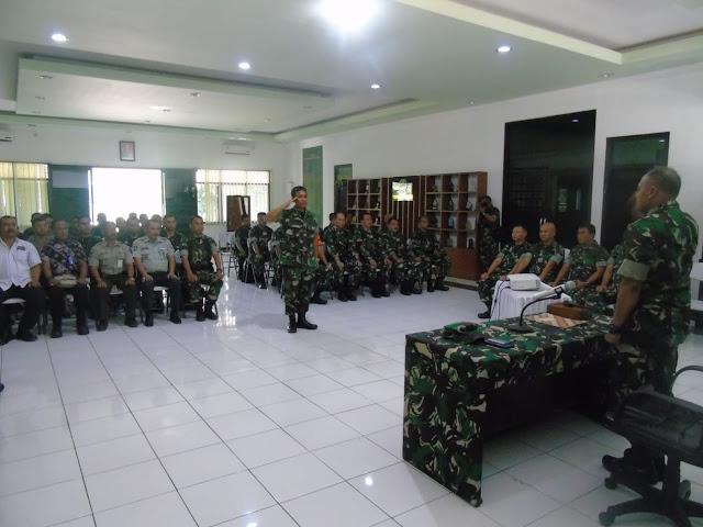 Penutupan Latihan Posko I Kodim Surakarta Dalam Penanggulangan Bencana