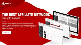 FireAds - plataforma de afiliados