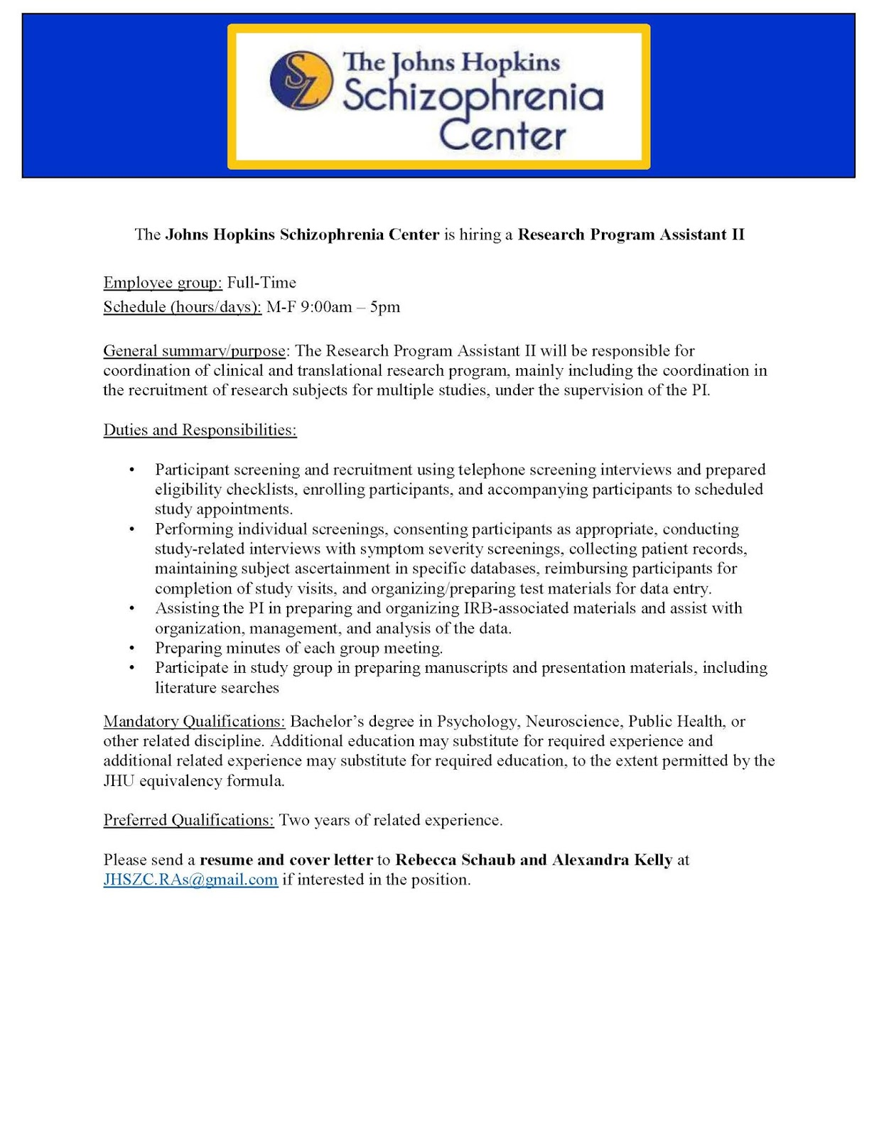 Indiana University Psychology & Neuroscience Blog: JHU