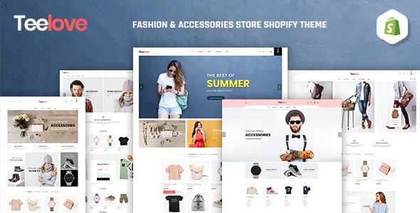 Best Fashion and Accessories Store Shopify Theme
