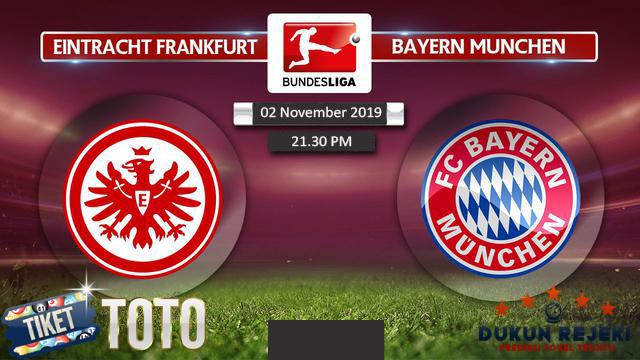 Prediksi Frankfurt vs Bayern Munchen 02 November 2019