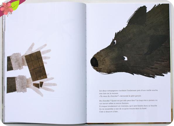 Le secret du loup de Morgane de Cadier et Florian Pigé - éditions HonFei