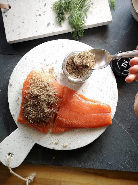 gravlax,saumon-gravlax,la-pincee,recette,madame-gin,montreal