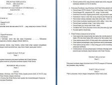 Geveducation:  Contoh MoU Lembaga PAUD dengan Puskesmas