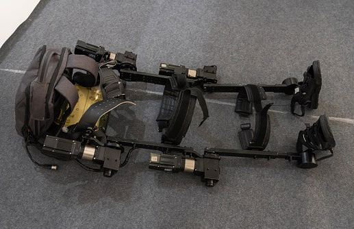 Robotics lags for human is called Exoskeletons