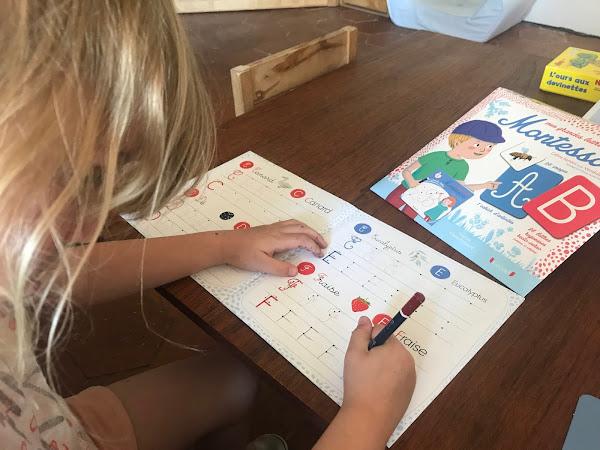 Activités Montessori  : Les lettres et les chiffres