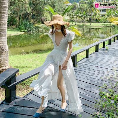 Shop bán váy maxi đi biển tại Phùng Hưng