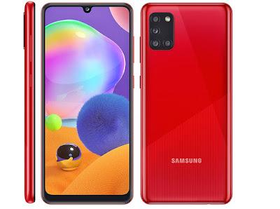 Samsung Galaxy A31   متــــابعي موقـع عــــالم الهــواتف الذكيـــة مرْحبـــاً بكـم ، نقدم لكم في هذا المقال مواصفات و سعر موبايل و هاتف/جوال/تليفون سامسونج جالاكسي Samsung Galaxy A31 - الامكانيات/الشاشه/الكاميرات/البطاريه سامسونج جالاكسي Samsung Galaxy A31 - ميزات سامسونج جالاكسي Samsung Galaxy A31 - مواصفاتسامسونج جالاكسي اي31