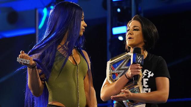 """""""Bayley vs. Sasha Banks"""" pode estar próximo de acontecer na WWE"""
