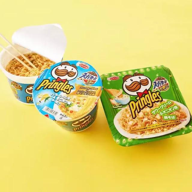 Pringles ramen japan