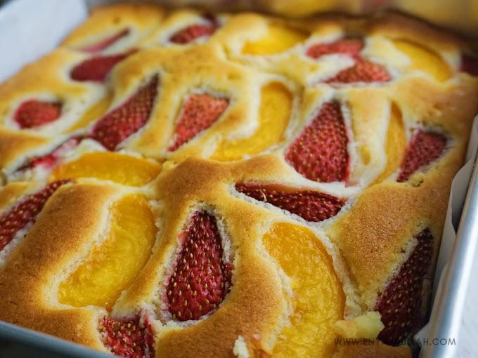 Kek Viral Fruits Pastry Cake