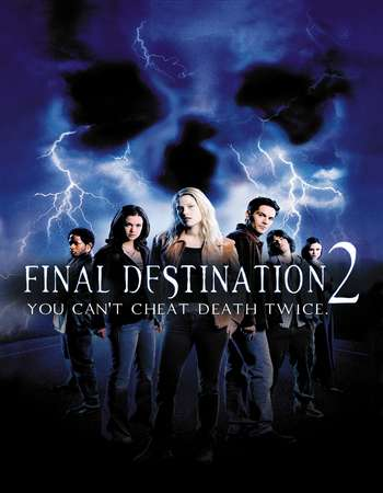 Poster Of Final Destination 2 2003 Hindi Dual Audio 450MB BluRay 720p ESubs HEVC Free Download Watch Online downloadhub.in