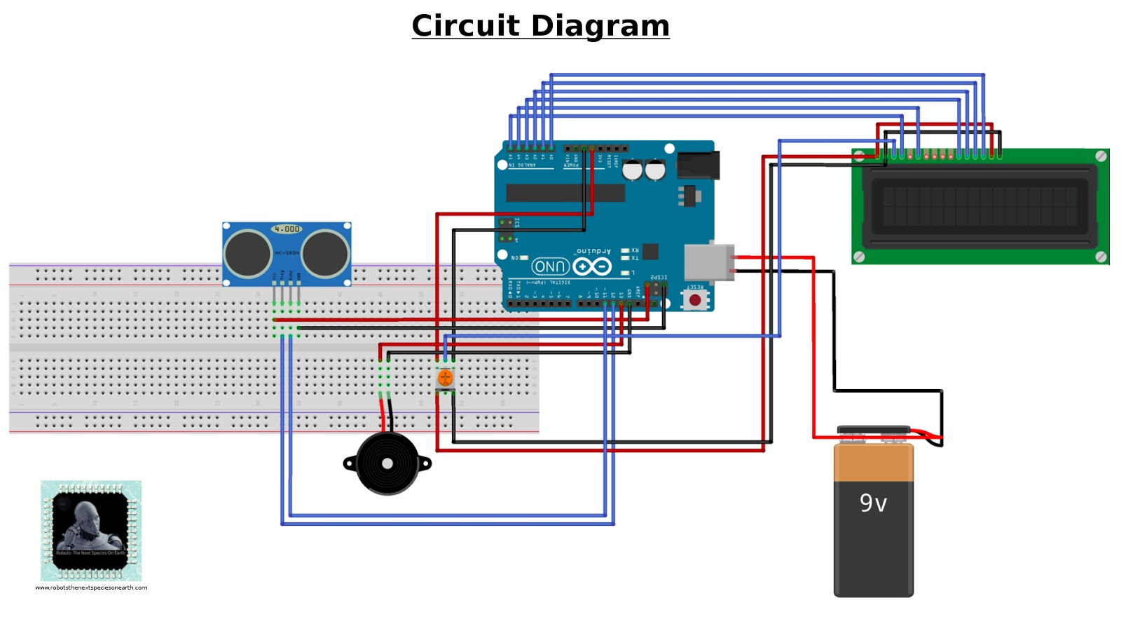 Com Products Circuitdiagramreverseparkingsystemwithsensorshtml Circuit Checker Add330 Auto Circuits Tracer Detector Car Short Reverse Parking Sensor System Using Arduino Robots The Next Rh Robotsthenextspeciesonearth