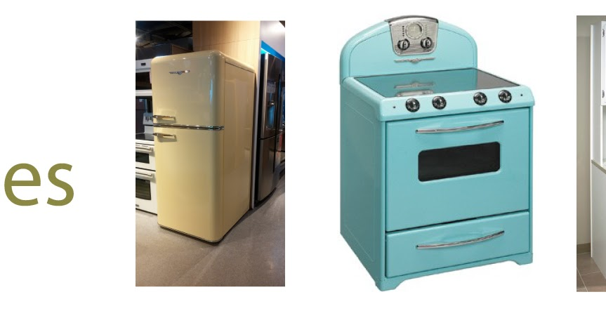 Barber and haskill appliance and mattress store retro for 50s style kitchen appliances