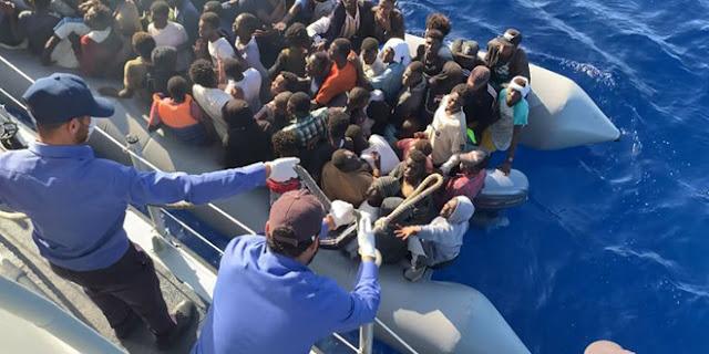 ليبيا: غرق حوالي 100 مهاجر غير شرعي