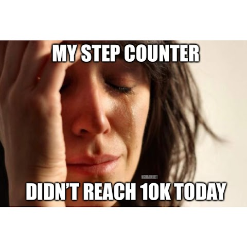 I Resolved to Walk 10,000 Steps a Day on Average This Year. Help.