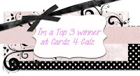 Top 3 at Cardz 4 Galz