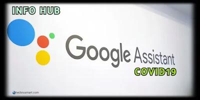 google assistant information on coronavirus