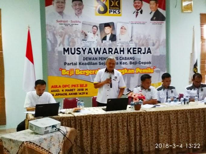 DPC PKS Beji Sinergikan Rencana Kerja