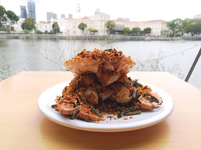 Fried Spicy Crab in Authentic Bi Fen Tang Style