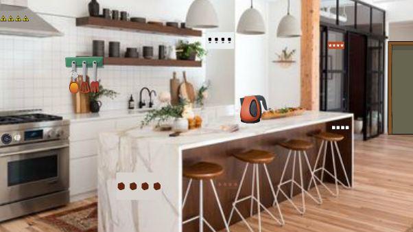 Geniefungames Sophisticated Kitchen Escape