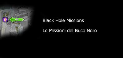 Black Hole Missions - Le Missioni del Buco Nero