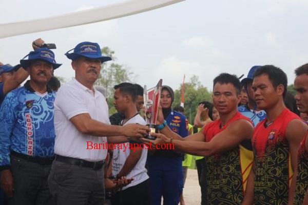 Lomba Dayung Perahu Naga, Kapolda Cup 2019 Resmi Ditutup Kapolda Kalteng