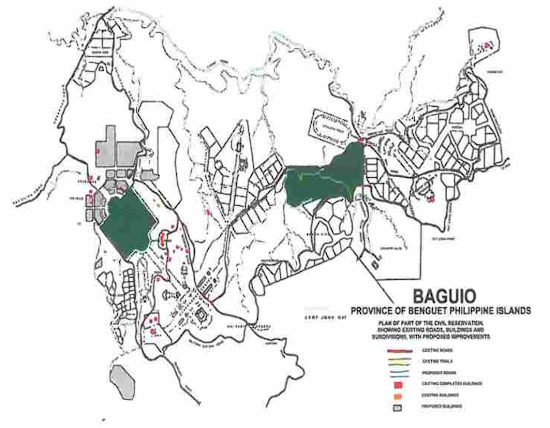 Burnham Plan of Baguio City