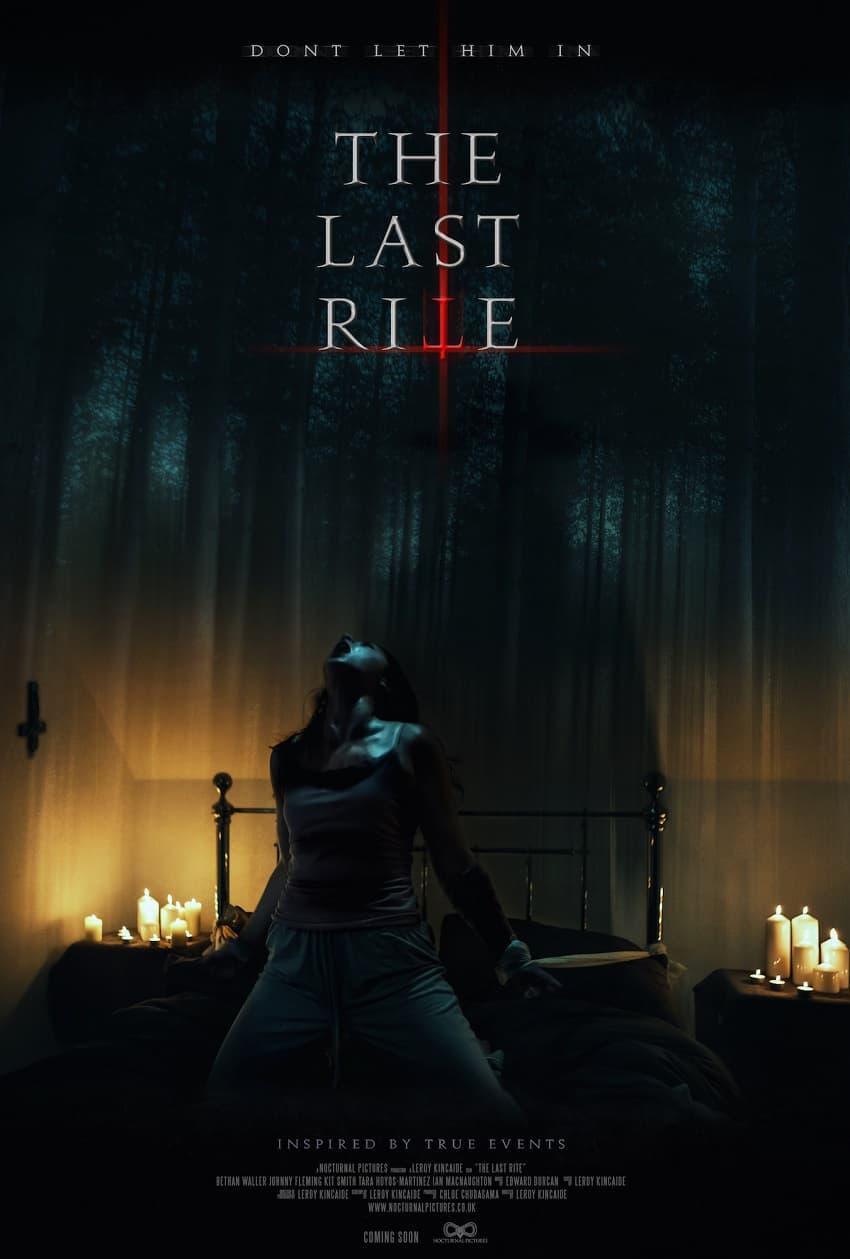Мистический фильм ужасов The Last Rite про экзорцизм выйдет в конце ноября - Постер