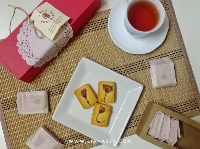 Taiwanese Pineapple Tart dari D'FUN Cookies