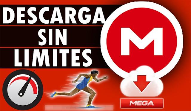 Descarga desde MEGA sin limites (Solución Limitación)  2018.