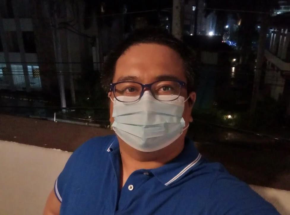 Infinix Hot 10s Camera Sample - Selfie, Night