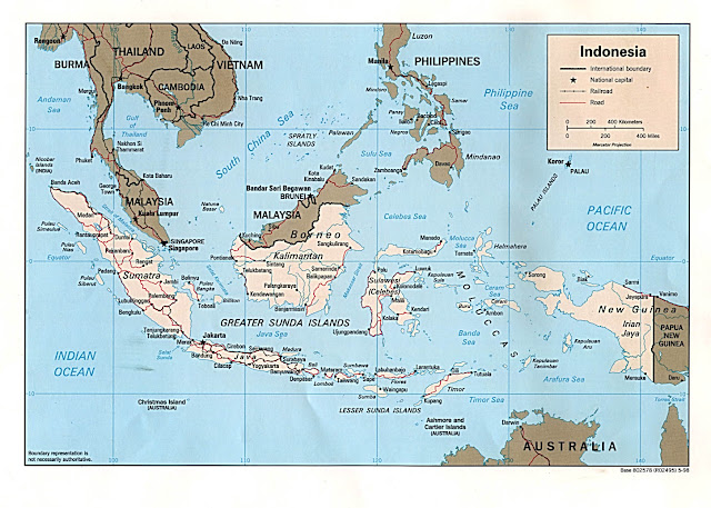 تحميل خرائط اندونيسيا بأعلى دقة |  Indonesia Maps