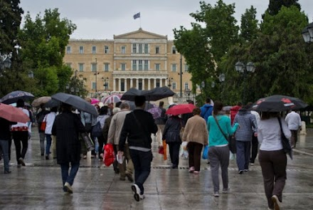 Έντονες βροχές τις επόμενες ώρες στην Αττική
