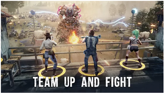 Team up and Fight