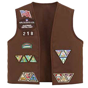 Girl Scout Brownie Uniform from Boscov's