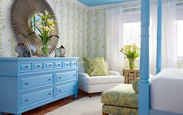 Blue Bedroom Furniture Ideas, Blue Painted Bedroom Furniture Ideas