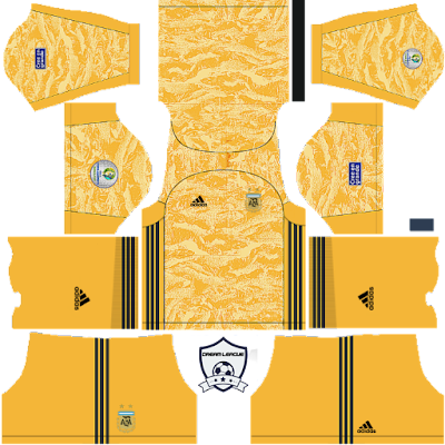 argentina 2019 copa america goalkeeper home kit dls