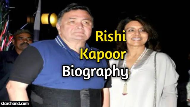 Rishi Kapoor Biography