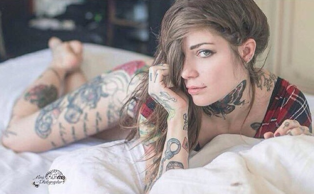 The art of the tattoo model