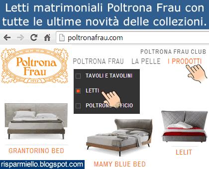 Letto Bluemoon Poltrona Frau Prezzo.Risparmiello Poltrona Frau Letti Matrimoniali Catalogo Prezzi