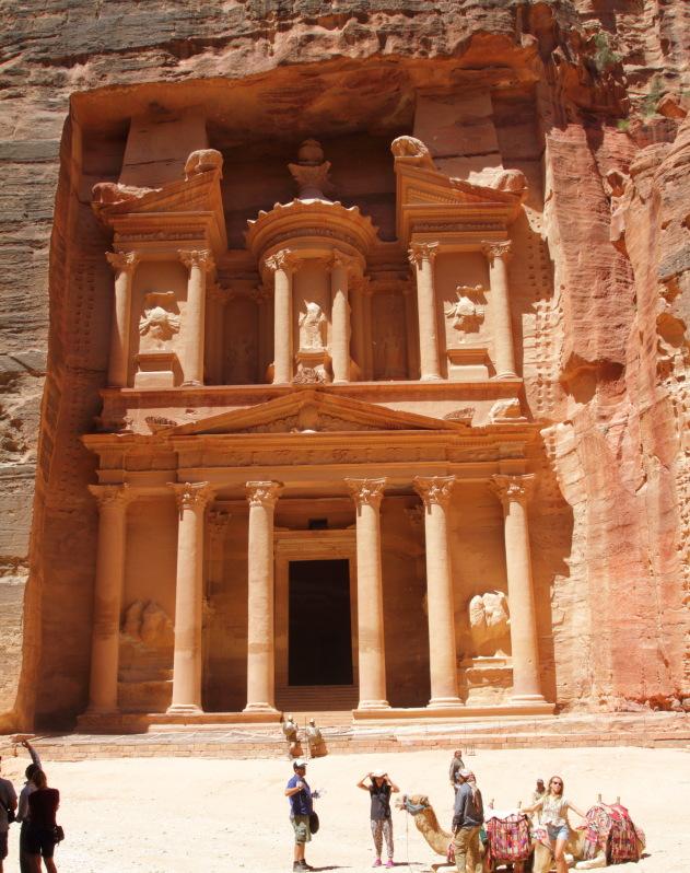 The highlight of Jordan - Petra Treasury