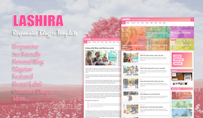 Lashira Responsive Blogger Template